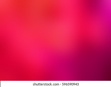 Bright red pink silk blurred background. Empty backdrop. All shades of ripe berries watercolor texture. Festive abstract background.
