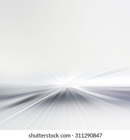 A bright soft background, looking into infinity
