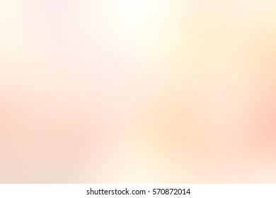 Bright spring apricot blurred background. Abstract watercolor texture. Peach misty backdrop.