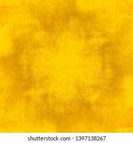 bright yellow watercolor background texture