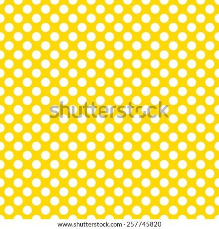 eebebbc68ce Royalty Free Stock Illustration of Bright Yellow White Polka Dot ...