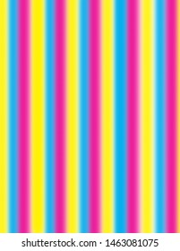 Brightly colored coloured fuzzy stripes in pink, yellow, and blue.  Groovy, psychedelic party background perfect for parties and celebrations.