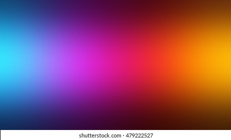 Brightly colored matte background. Blur spectrum smoke texture. Fusion of warm and cool colors. Transition from yellow to pink, from purple to blue.