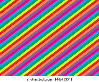 Brightly coloured diagonal stripes.  Groovy, psychedelic party background.