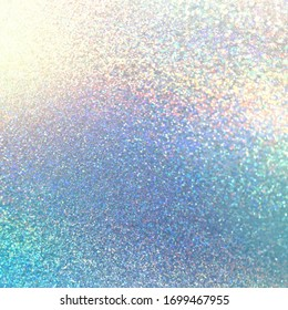 Brilliance holographic blue shimmer texture.