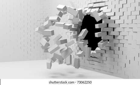 Wall Exploding Images, Stock Photos & Vectors | Shutterstock