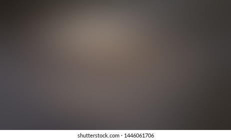 Brown abstract blurred dark gradient background with light gray spots. Web banner. Festive background.