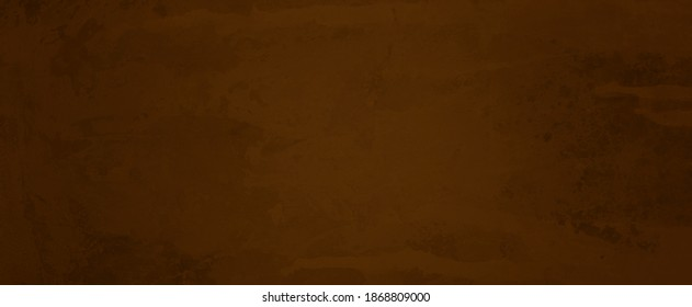 Brown background texture and grunge, old distressed vintage wall with elegant rich dark brown coffee color paper for warm earthy backgrounds or website design, antique painted metal in grungy pattern