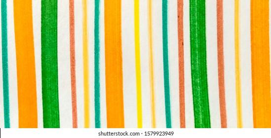 Brown Fuchsia Paintbrush Hipster Marker Stripes. Red Green Boho Hand Drawn Stroke. Orange Shibori Grunge Lines. Rose Bright Juicy Doodle Marker Stripes.