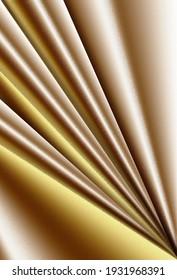Brown gradient background. Diagonal beams