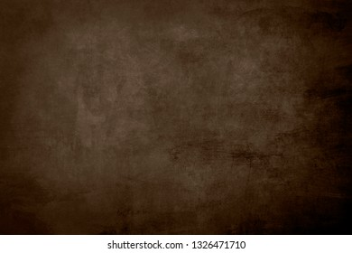 Brown grungy distressed canvas bacground