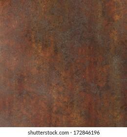 brown metal rust