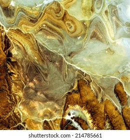 Brown and nacre marble texture