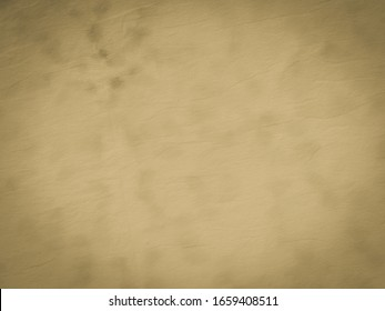 Brown Old Paper Banner. Crepe Retro Aquarelle. Cream Faded Border. White Pale Handmade Canvas. Beige Vintage Paper Texture. Warm Gray Warm Vignette Banner. Beige Grunge Parchment.
