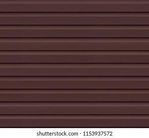Brown wall cladding, siding seamless texture