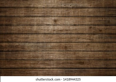 Brown wood background texture from old planks