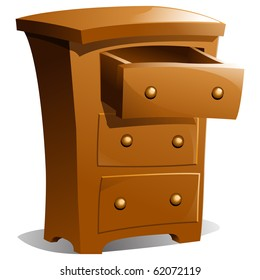 Drawer Cartoon Images, Stock Photos & Vectors | Shutterstock