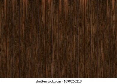 Brown wood planks background. Realistic wooden texture.