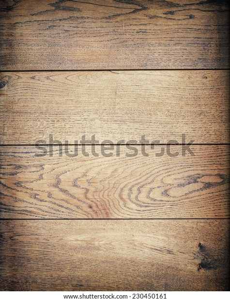 Brown wooden planks texture, table or floor surface