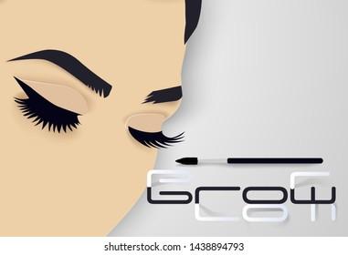 Ilustraciones, imágenes y vectores de stock sobre Lash Brows