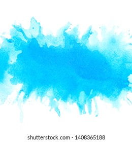 brush and drawing stain abstract watercolor background.