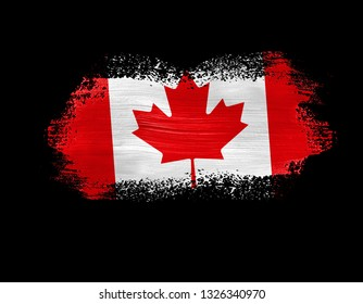 beb3b9e2c Canada Tshirt Print Design Canadian Flag Stock Vector (Royalty Free ...
