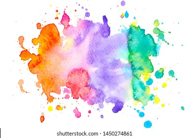 brush stroke abstract watercolor background.