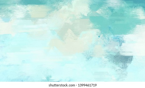 brush strokes texture with light cyan, medium aqua marine and sky blue colors. can be used for wallpaper, cards, poster or creative fasion design elements.
