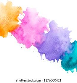 brush watercolor.beautiful image