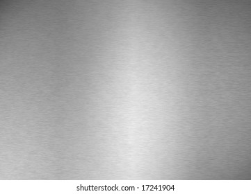 brushed metal plate (background)