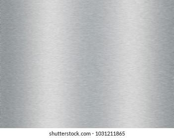 Brushed metal plate illustration