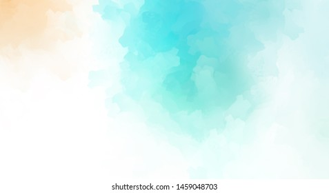 Brushed Painted Abstract Background. Brush stroked painting. Strokes of paint. 2D Illustration.