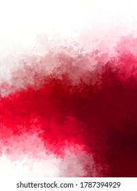 Abstrakter, gestrichener Hintergrund. Pinselstrichmalerei. Künstlerisch lebendige und bunte Tapete.