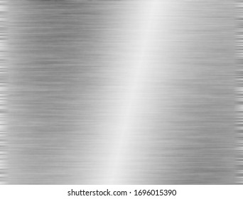 brushed steel or aluminium metal background texture
