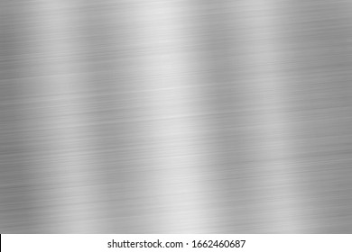 Brushed steel metal texture background