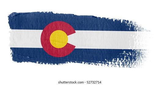 Brushstroke Flag