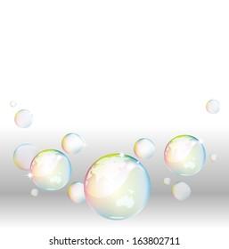 Bubble Rainbow Illustration