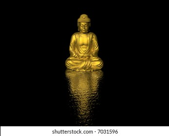 buddha (high resolution 3D image)