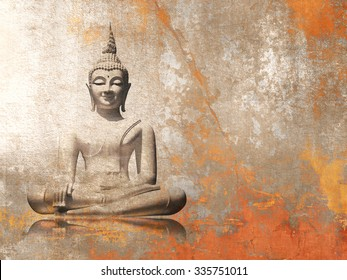 Buddha - meditation background
