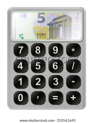budget calculation stock illustration 310561643 shutterstock