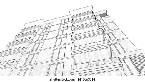 Exterior Drawing Images, Stock Photos & Vectors | Shutterstock