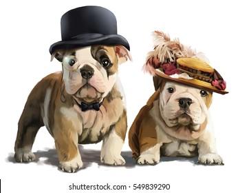 Bulldogs painting