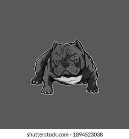 bully americanbully logo dog pitbull