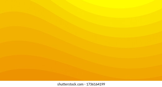 Bunte Hintergrund mit Gelbeln Wellen Streifen.