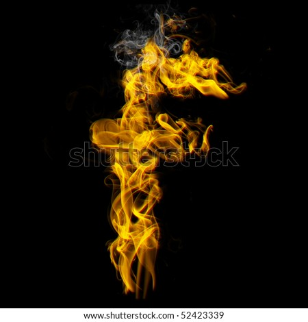 f7370a5970cc7 Burning Letter F Check All Fire Stock Illustration - Royalty Free ...