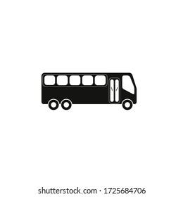 Bus icon and illustration icon