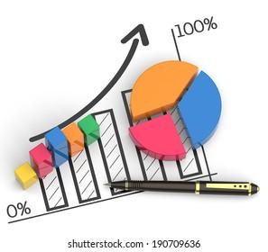 Business budget plan as a concept