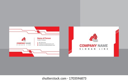 Business Card Design. Print Ready file. editable File. 300 DPI