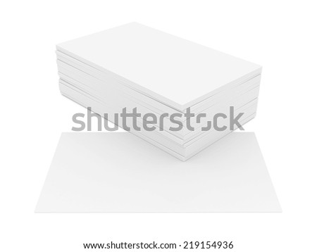 Royalty Free Stock Illustration Of Business Cards Blank Mockup