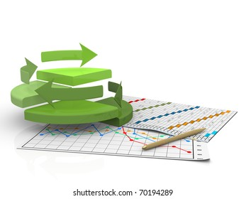 business finance chart, diagram, bar, graphic